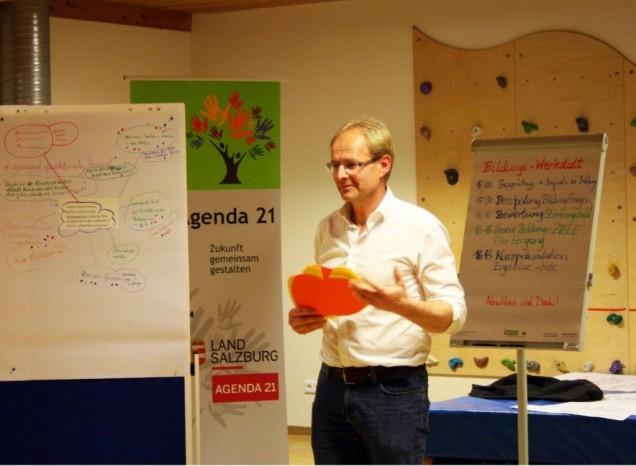 Agenda 21 Prozessbegleiter Johann Madreiter